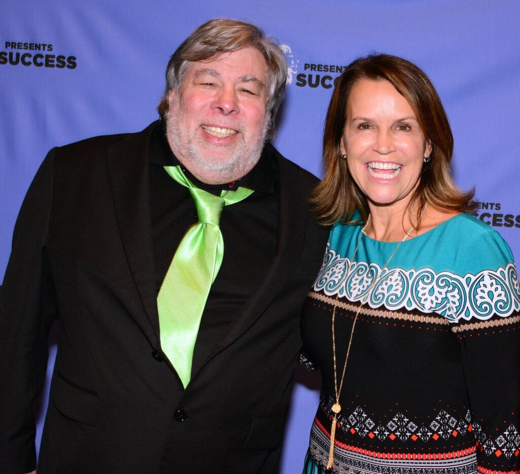 Steve Wozniak with Sheryl Matthys