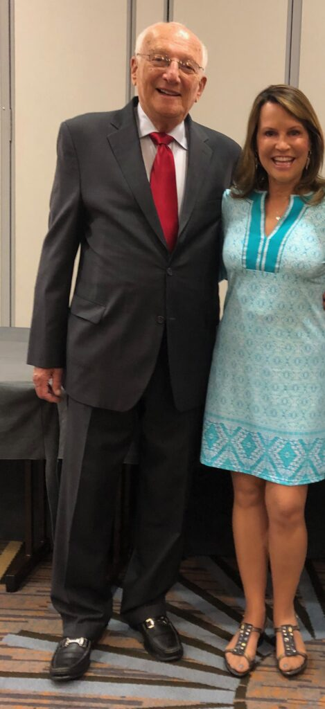 George Ross with Sheryl Matthys